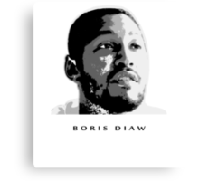 BORIS DIAW -NEW- STENCIL DESIGN Canvas Print