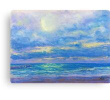 Water and Light (pastel) Canvas Print