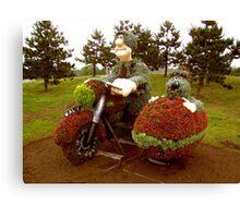 Wallace & Grommit living plant art  Canvas Print