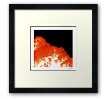'Cumulus Nuke' Framed Print