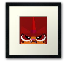 No Frowny Faces Framed Print
