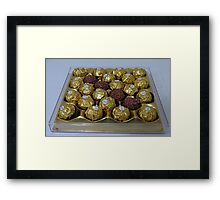 Aromatherapy Unwrapped Framed Print