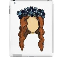 LANA DEL REY DRAWING iPad Case/Skin