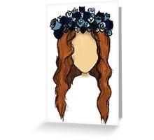 LANA DEL REY DRAWING Greeting Card
