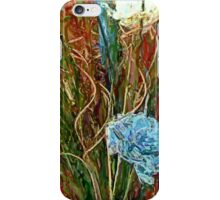 Swirls. Spike & Flowers iPhone Case/Skin