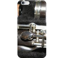 The Throat Notes - Clarinet Close-up iPhone Case/Skin