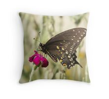 Blowing Winds Throw Pillow