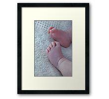 Sweet Feet Framed Print