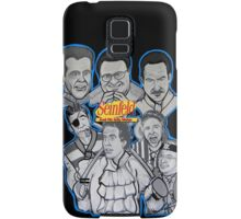 Seinfeld and his jolly mates Samsung Galaxy Case/Skin