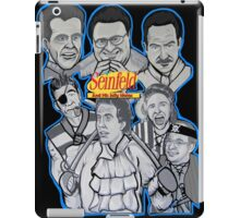 Seinfeld and his jolly mates iPad Case/Skin