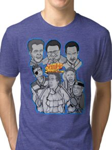 Seinfeld and his jolly mates Tri-blend T-Shirt
