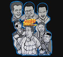 Seinfeld and his jolly mates Unisex T-Shirt