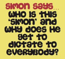 Simon says Kids Clothes
