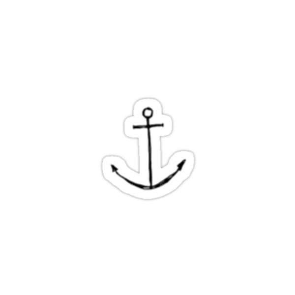 Small Anchor by ameliabedelia