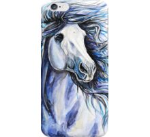 Indigo Horse iPhone Case/Skin