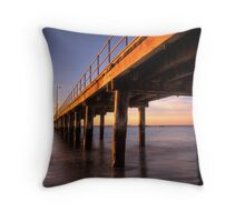 Flinders Jetty Throw Pillow