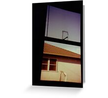 Suburbia disturbia Greeting Card