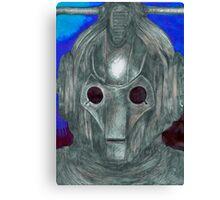 Cyberman Sketch Canvas Print