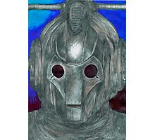 Cyberman Sketch Photographic Print
