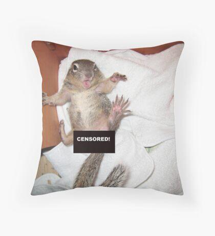 I beg your pardon! Throw Pillow
