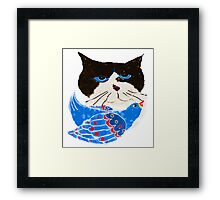 The Bird Cat Framed Print