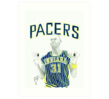 Reggie Miller Indiana Pacers, Knicks Killer Art Print
