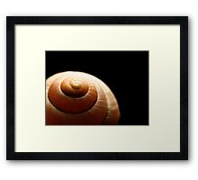 The Spiral Summit Framed Print