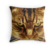 mr mean Throw Pillow