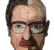 Walter White Transformation (Color) by Nathanlz