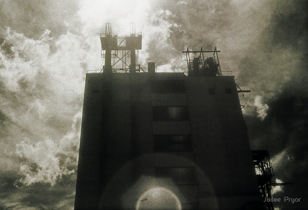 Landscape for Orson Wells # 4: Halo by Juilee  Pryor