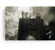 Landscape for Orson Wells # 4: Halo Canvas Print