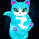 Neon Cat by Mehdals