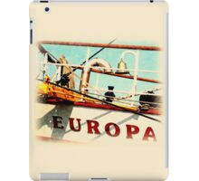 Europa - Ship's Bell iPad Case/Skin