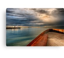 Corio Bay, Geelong Canvas Print