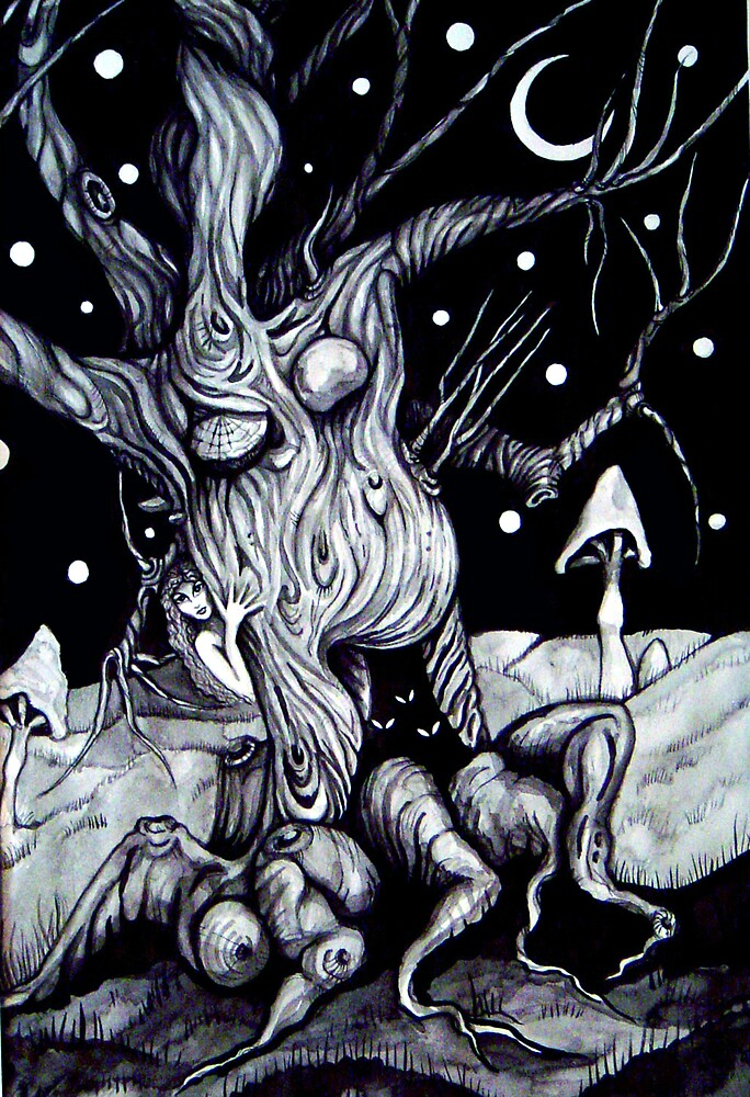 Tree by Barbara Zakrzewska