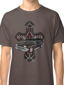 Hearse and Cross Classic T-Shirt