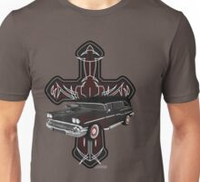Hearse and Cross Unisex T-Shirt