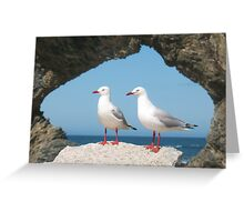 Birds in Australia Greeting Card