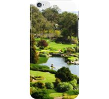Cowra Japanese Garden iPhone Case/Skin