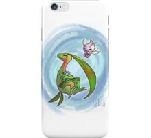 Pokemon Mystery Dungeon- Groyle and Celebi iPhone Case/Skin
