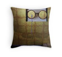 Optical Prisoner Throw Pillow