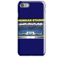 Michigan Stadium iPhone Case/Skin