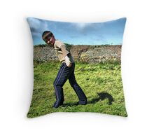 The Blustery Day Throw Pillow