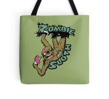 Zombie Sloth Tote Bag