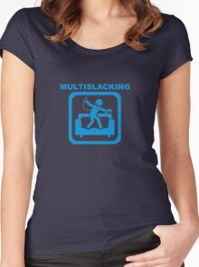 Multislacking Women's Fitted Scoop T-Shirt