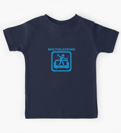 Multislacking Kids Tee