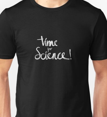 Time for Science! (black) Unisex T-Shirt