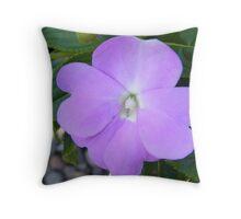 Impatiens - New Guinea Throw Pillow