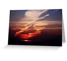 Sunset Dance Greeting Card