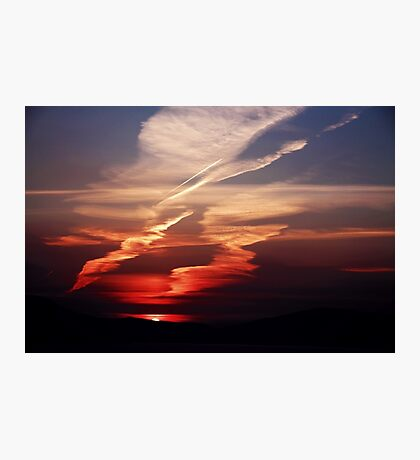 Sunset Dance Photographic Print